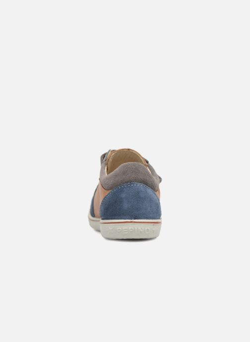 Baskets PEPINO Tommy Marron vue droite