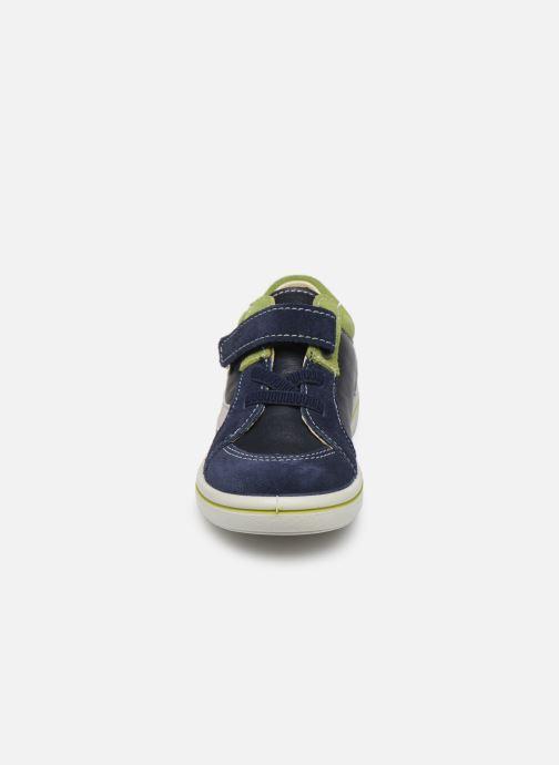 Sneakers PEPINO Tommy Azzurro modello indossato