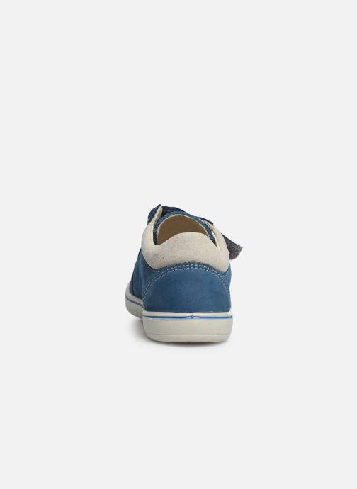 Trainers PEPINO Timmy Blue view from the right