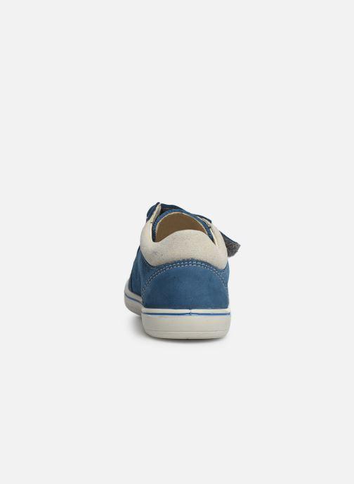 Sneaker Pepino Timmy blau ansicht von rechts