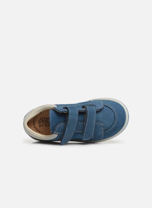 Sneaker Pepino Timmy blau ansicht von links