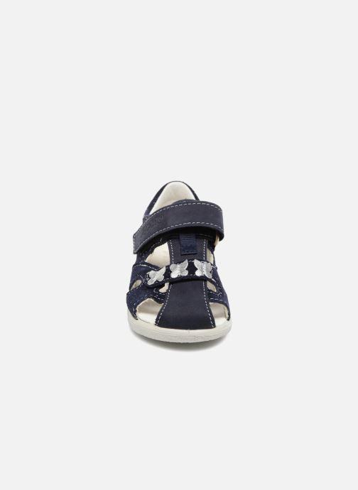 Sandales et nu-pieds Pepino Antje Bleu vue portées chaussures