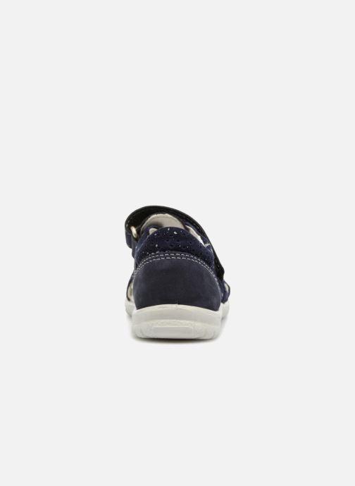 Sandales et nu-pieds Pepino Antje Bleu vue droite