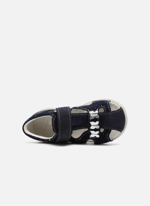 Sandales et nu-pieds Pepino Antje Bleu vue gauche