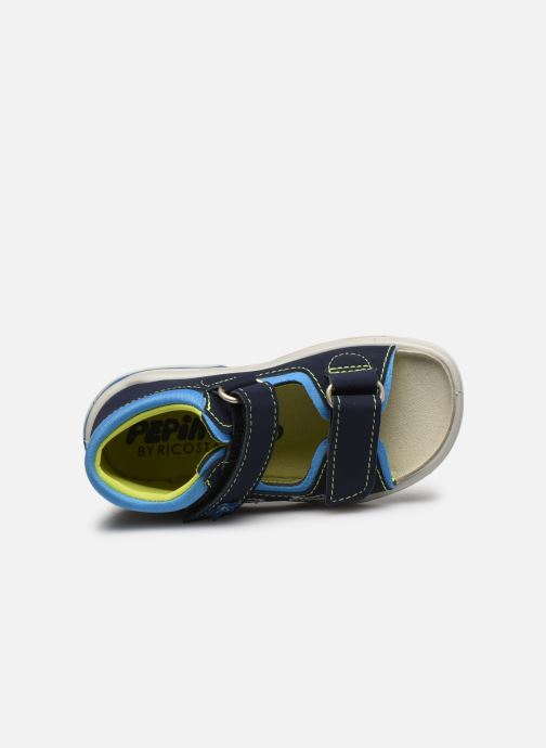 Sandals PEPINO Frankie Blue view from the left