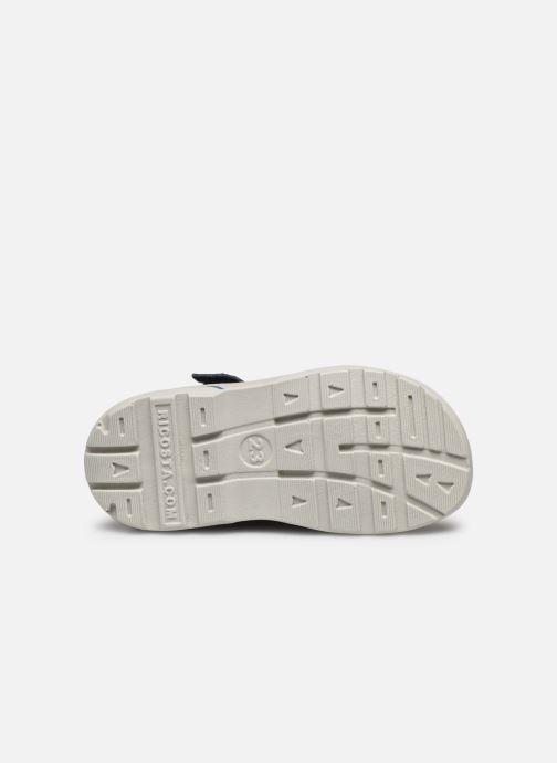 Sandales et nu-pieds Pepino Frankie Bleu vue haut