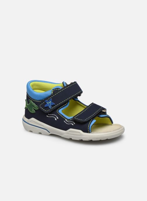 Sandals PEPINO Frankie Blue detailed view/ Pair view