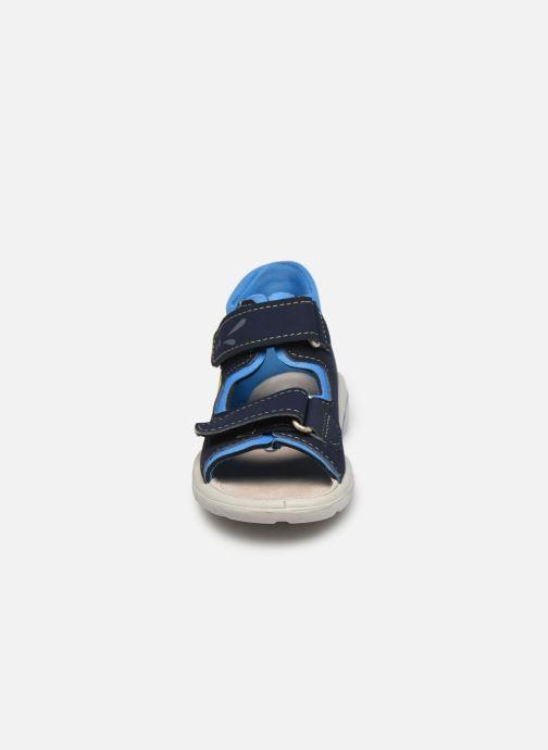 Sandales et nu-pieds Pepino Frankie Bleu vue portées chaussures