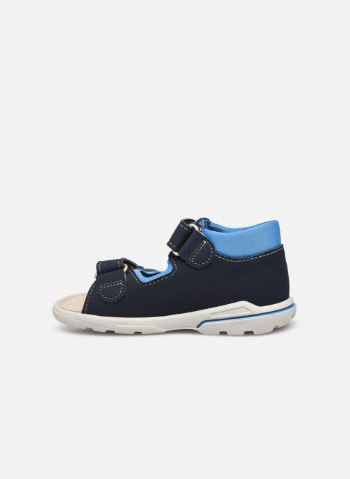 Sandales et nu-pieds Pepino Frankie Bleu vue face