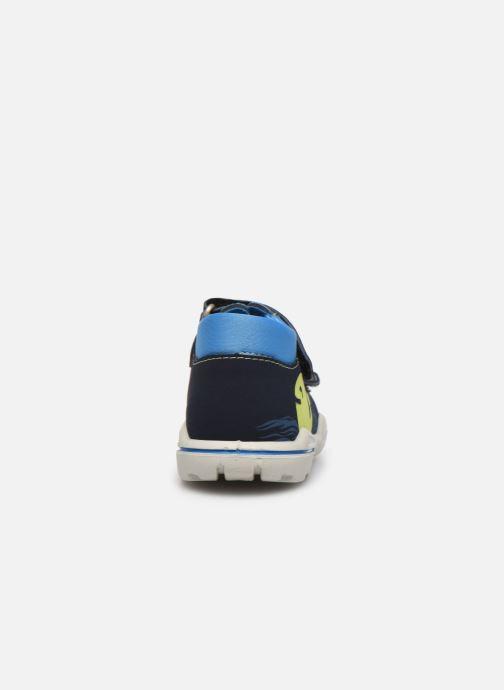 Sandales et nu-pieds Pepino Frankie Bleu vue droite