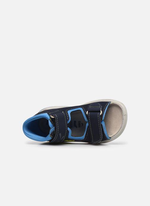 Sandalias Pepino Frankie Azul vista lateral izquierda