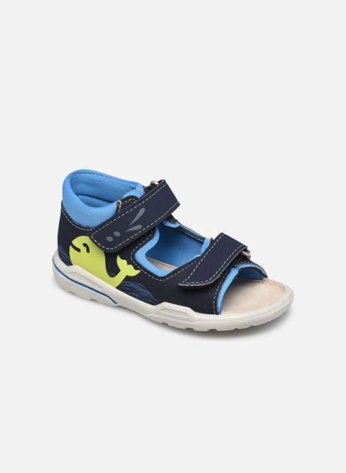 Sandales et nu-pieds Pepino Frankie Bleu vue détail/paire