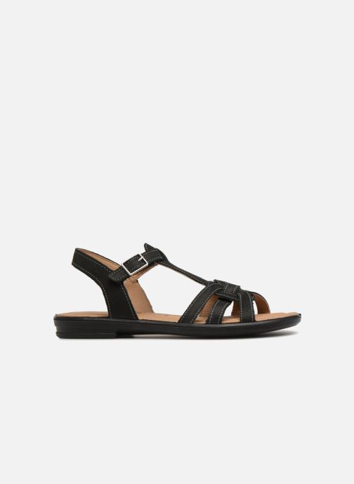Sandals Ricosta Birte Black back view