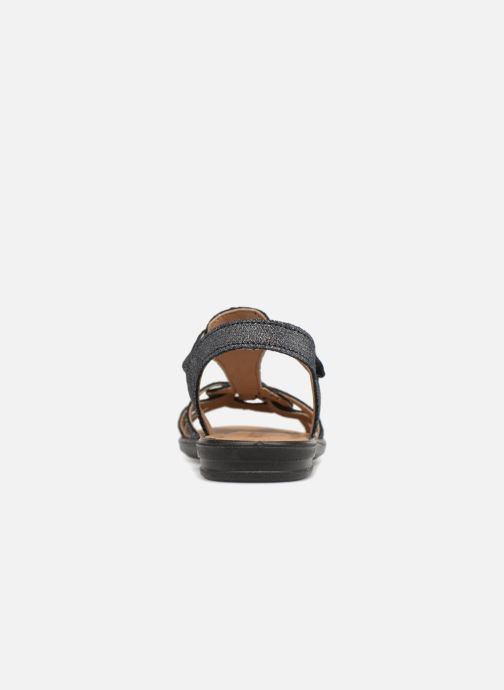 Sandals Ricosta Birte Blue view from the right