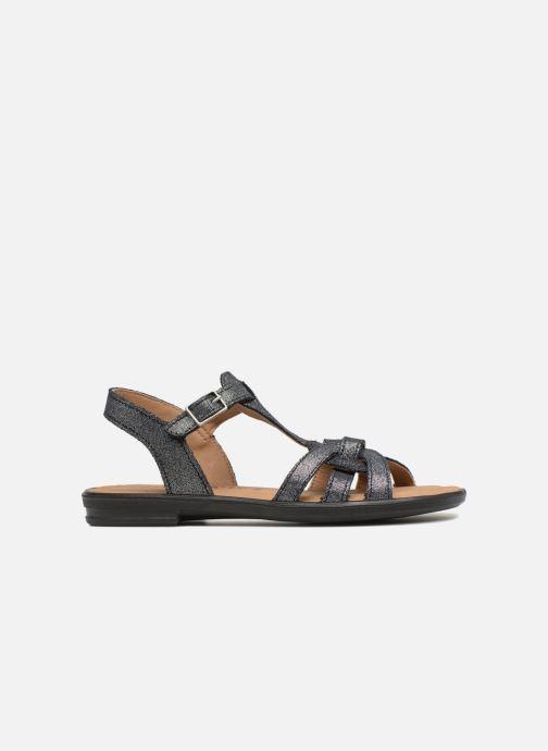 Sandales et nu-pieds Ricosta Birte Bleu vue derrière