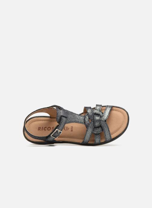 Sandali e scarpe aperte Ricosta Birte Azzurro immagine sinistra