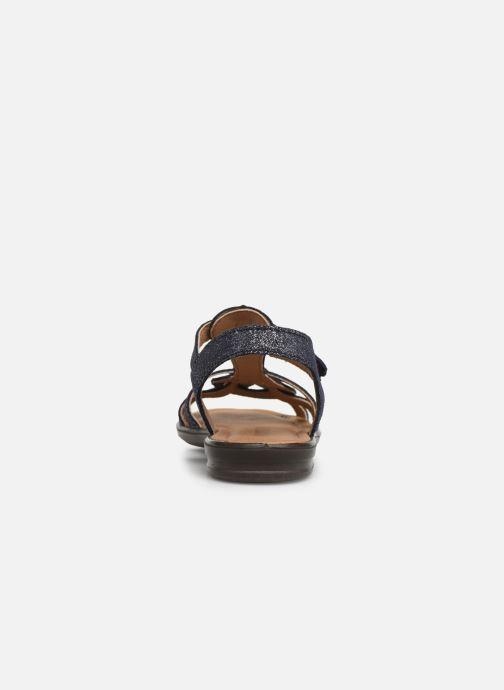 Sandales et nu-pieds Ricosta Birte Bleu vue droite
