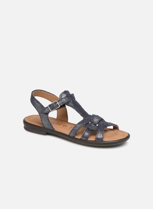 Sandales et nu-pieds Ricosta Birte Bleu vue détail/paire