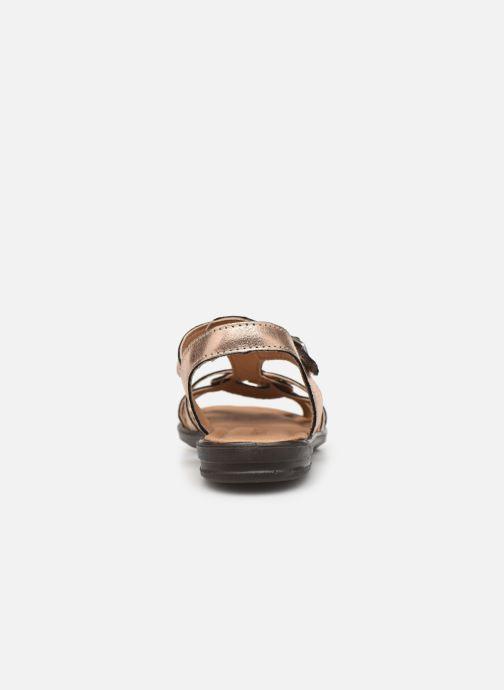 Sandali e scarpe aperte Ricosta Birte Oro e bronzo immagine destra
