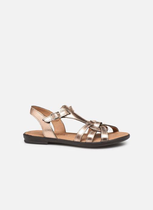 Sandales et nu-pieds Ricosta Birte Or et bronze vue derrière