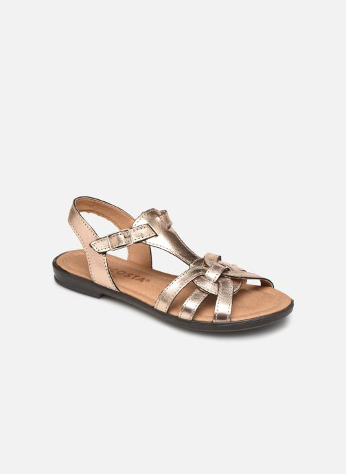 Sandals Ricosta Birte Bronze and Gold detailed view/ Pair view