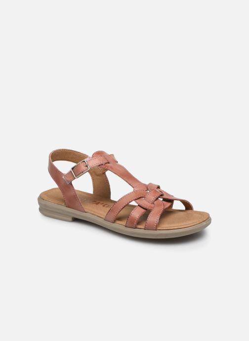 Sandales et nu-pieds Ricosta Birte Rose vue détail/paire