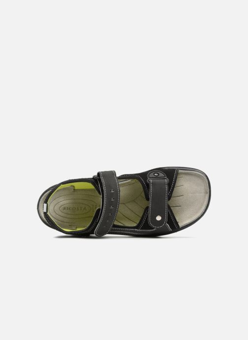 Sandals Ricosta Tajo Black view from the left