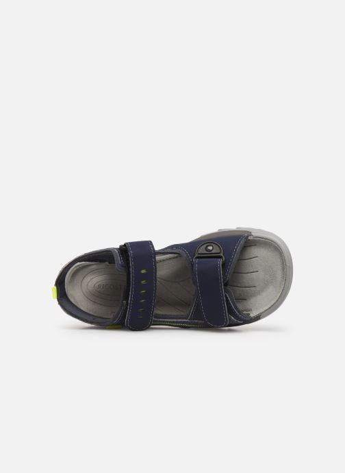 Sandalias Ricosta Tajo Azul vista lateral izquierda