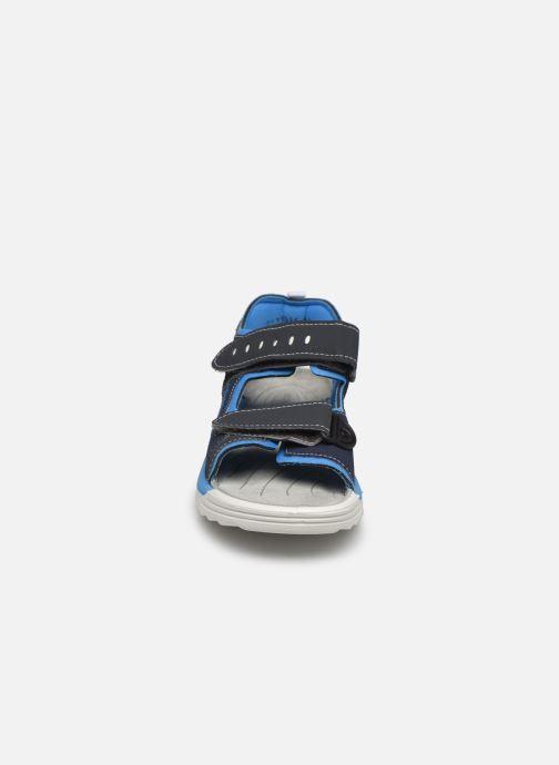 Sandalen Ricosta Tajo blau schuhe getragen