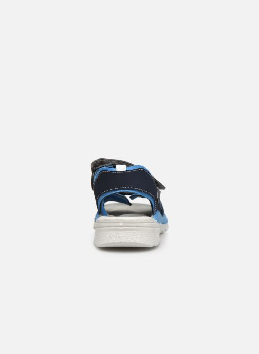 Sandalias Ricosta Tajo Azul vista lateral derecha