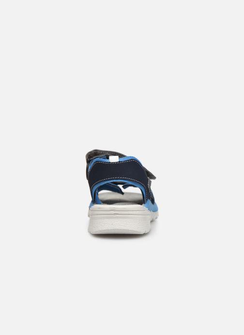 Sandales et nu-pieds Ricosta Tajo Bleu vue droite