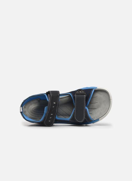 Sandalen Ricosta Tajo blau ansicht von links