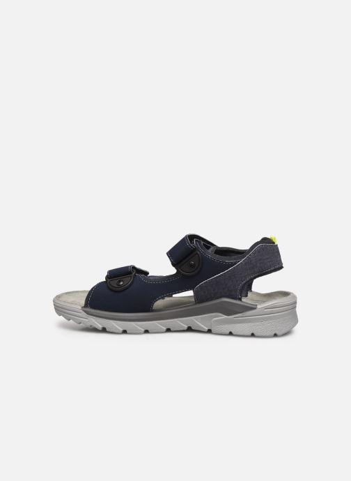 Sandales et nu-pieds Ricosta Tajo Gris vue face