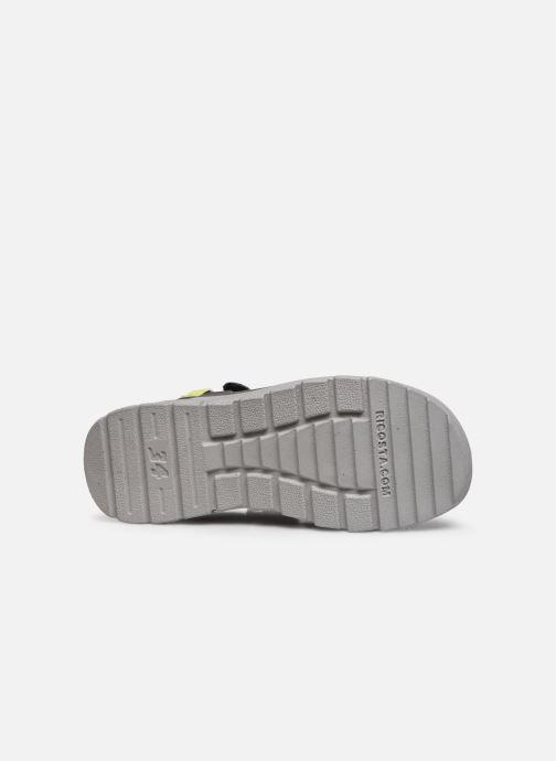 Sandales et nu-pieds Ricosta Tajo Gris vue haut