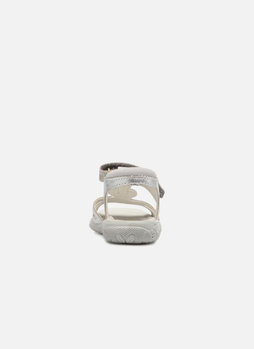 Sandals Ricosta Gina Silver view from the right