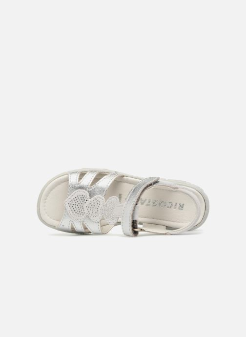 Sandals Ricosta Gina Silver view from the left