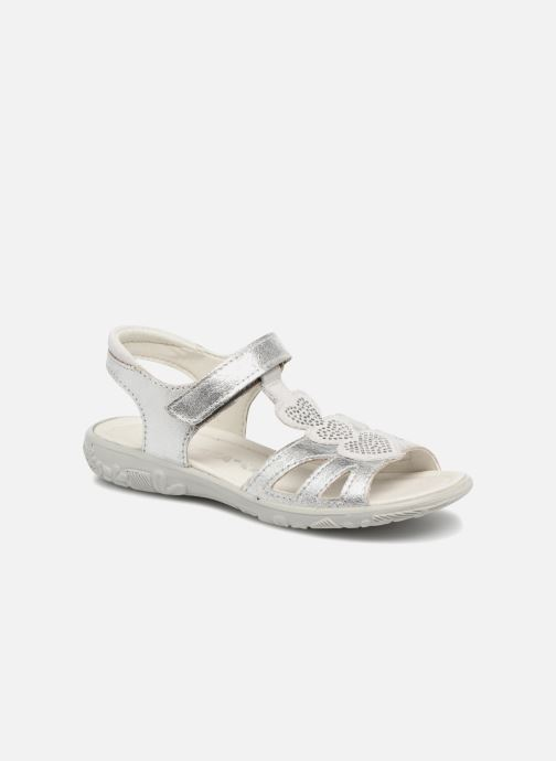Sandals Ricosta Gina Silver detailed view/ Pair view