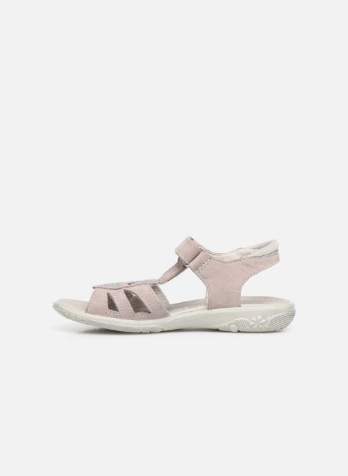 Sandals Ricosta Gina Pink front view