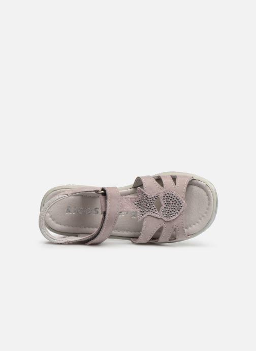 Ricosta Gina (Rose) Sandales et nu pieds chez Sarenza (356059)