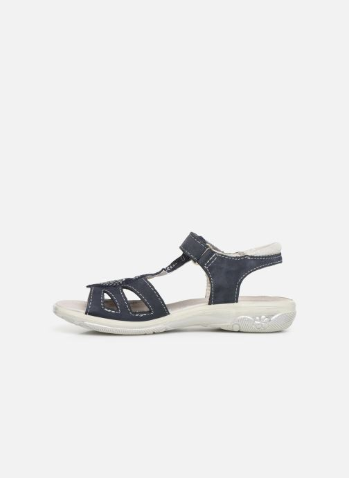 Sandals Ricosta Gina Blue front view