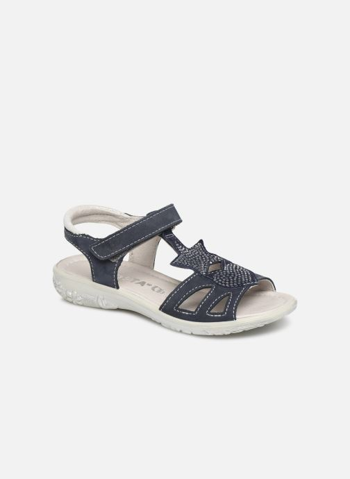 Sandals Ricosta Gina Blue detailed view/ Pair view