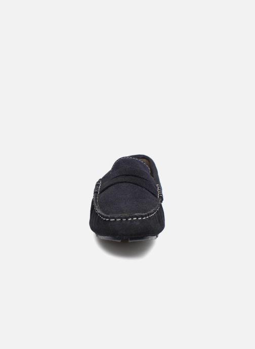 Mocassins Roadsign Lamir Bleu vue portées chaussures