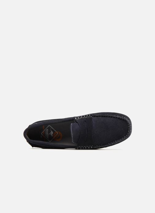 Loafers Roadsign Lamir Blue view from the left
