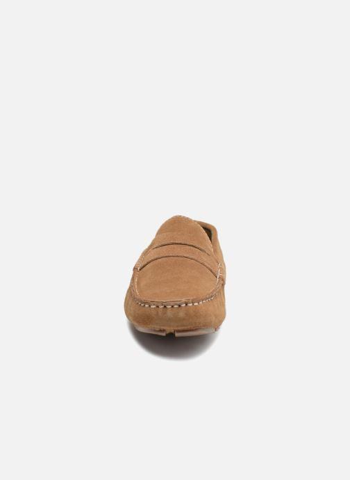 Mocassins Roadsign Lamir Marron vue portées chaussures