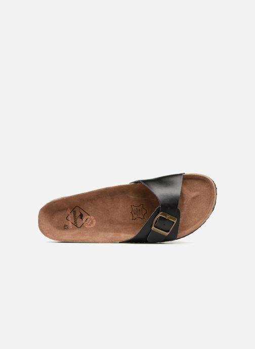 Sandales et nu-pieds Roadsign Tango Noir vue gauche