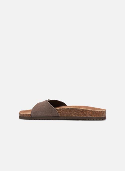 Sandales et nu-pieds Roadsign Tango Marron vue face