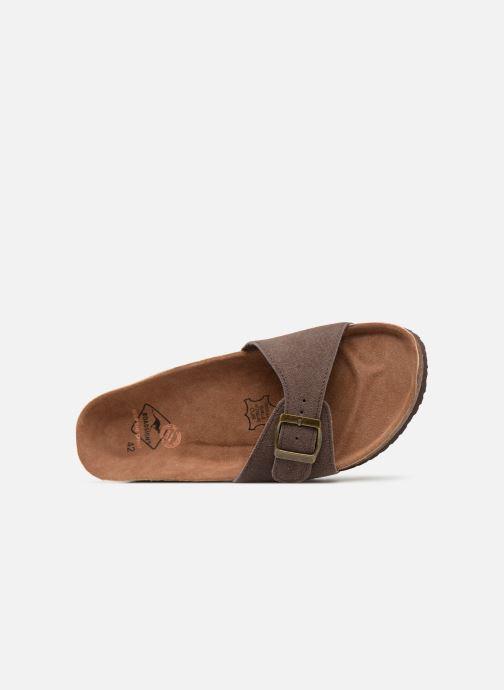 Sandales et nu-pieds Roadsign Tango Marron vue gauche