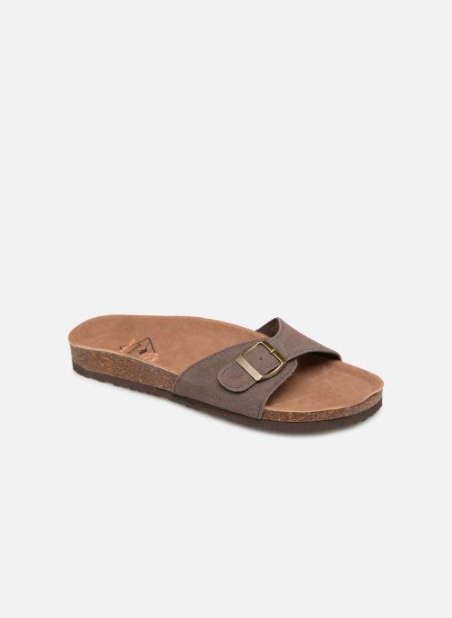 Sandales et nu-pieds Roadsign Tango Marron vue détail/paire