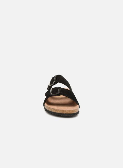 Sandales et nu-pieds Roadsign Tanloo Noir vue portées chaussures
