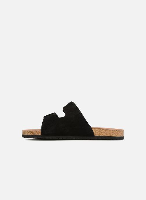 Sandales et nu-pieds Roadsign Tanloo Noir vue face